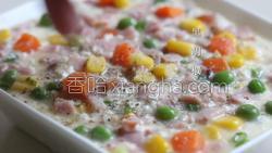 香菇培根焗豆腐的做法图解10