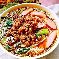 肉臊子酸汤面