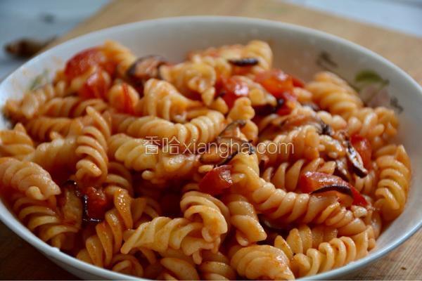番茄味螺旋丝意大利面