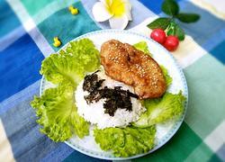海苔鸡排饭