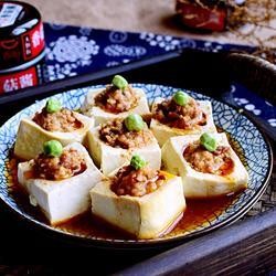 香菇酱酿豆腐