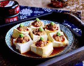 香菇酱酿豆腐[图]