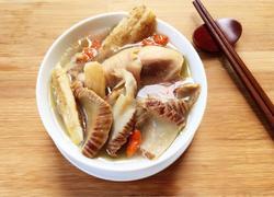 油螺煲鸡汤