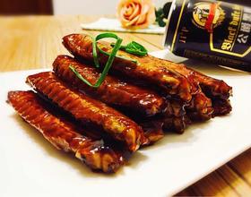 黑啤子姜焖鸭翅