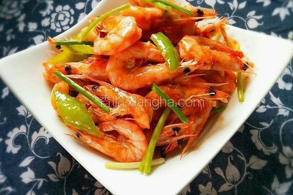 爆炒基尾虾