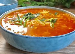 泡菜瘦身蔬菜汤
