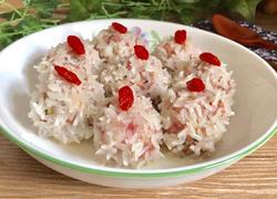 珍珠鹌鹑蛋肉丸