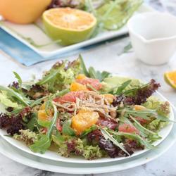 意式鸡肉橙柚沙拉