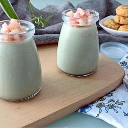 抹茶豆乳布丁