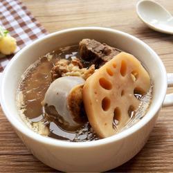 桃仁莲藕猪骨汤