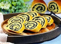 南瓜麻茸面包