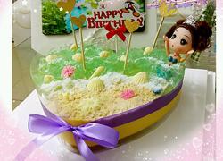 海洋芒果慕斯蛋糕(10寸)