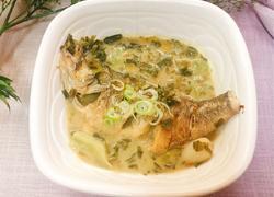 雪菜鲈鱼汤