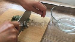 香煎荠菜卷的做法图解3