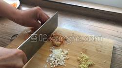 香煎荠菜卷的做法图解5