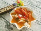 酸辣鲈鱼斑节虾汤的做法[图]