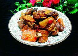 胡萝卜香菇焖排骨