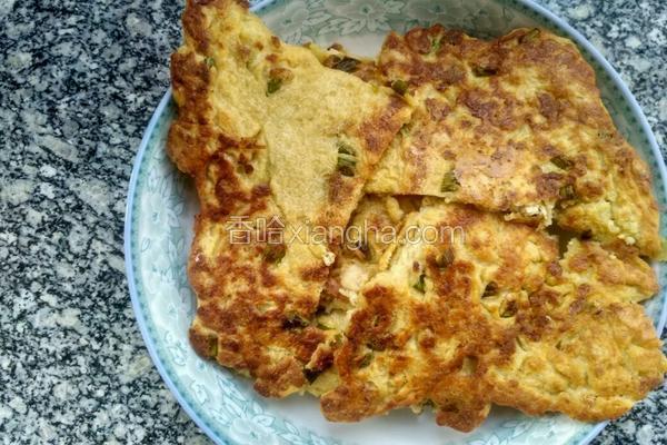 豆腐葱花饼