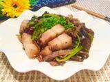 笋干木耳炒五花肉的做法[图]