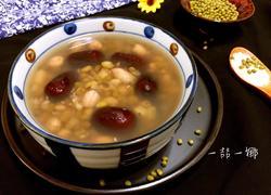 绿豆花生红枣甜汤