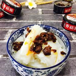 大颗粒香菇肠粉(简单快捷5分钟)