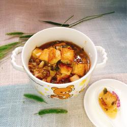 雪菜平锅豆腐