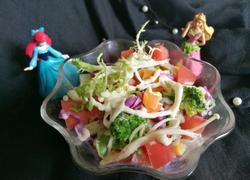 五彩蔬菜沙拉