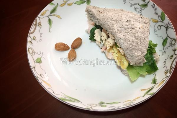 春山三明治(健身餐)