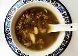百合绿豆甜汤