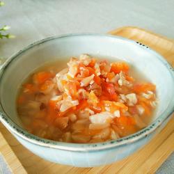 番茄胡萝卜鱼肉羹