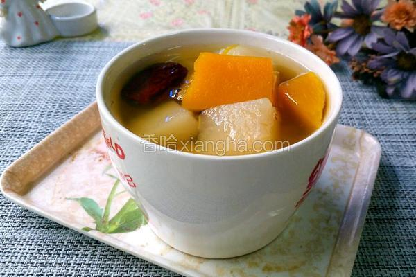 梨子南瓜汤