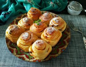砂糖香橙面包卷