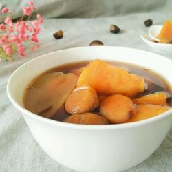番薯栗子姜汤