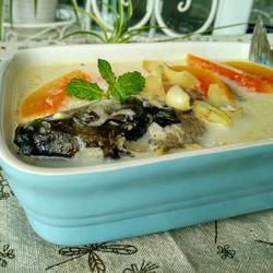 木瓜奶汁鲫鱼汤