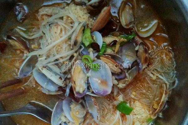 蚬子粉丝金针菇(香辣版)