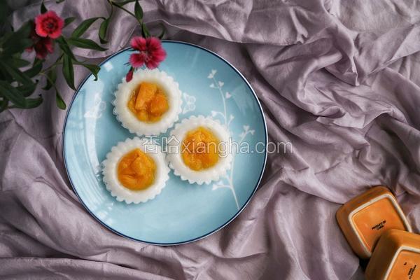 芒果钵仔糕