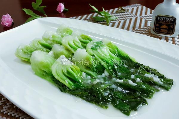 蒜蓉扒油菜