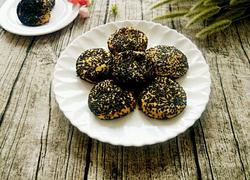 黑芝麻南瓜饼(烤箱版)