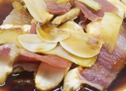 黄油煎松茸&云腿蒸松茸