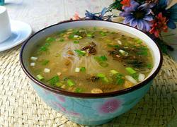 干酸菜粉丝汤