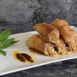 金针菇沙茶肉卷