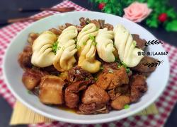 铁锅炖-排骨土豆花卷锅