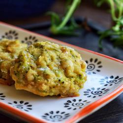 花椰菜肉饼