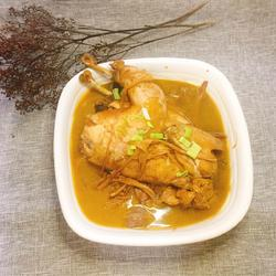 光花菜炖鸡
