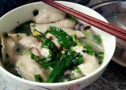 蔬菜香菇肉沫水饺