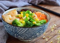 高汤蔬菜面