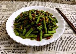 肉末炒刀豆