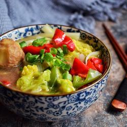 白菜煲板栗