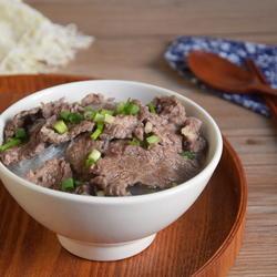 肉片粉丝汤