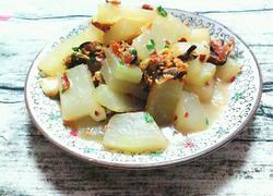 冬瓜烧淡菜